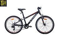 "Велосипед 24"" LeonJunior AM v-brake 2020"