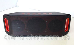 Колонка портативная Atlanfa MOD S 204 с USB SD Bluetooth FM радио