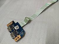 Плата с USB разъемами  для ноутбука Acer E5-571/E5-531 series