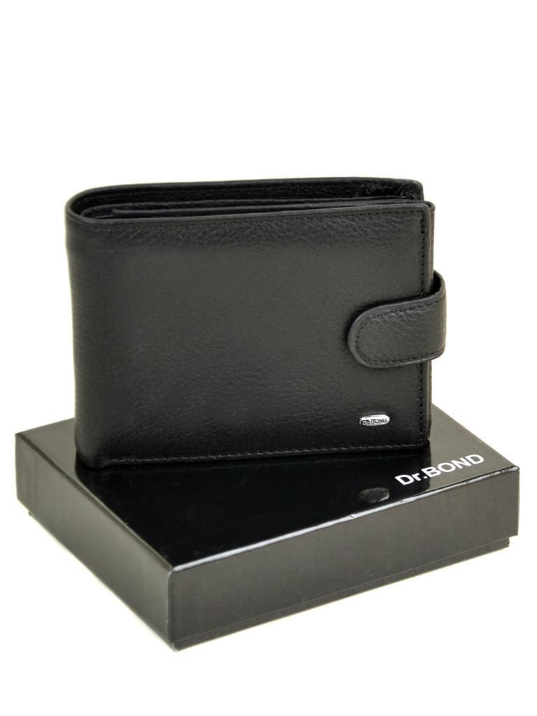Мужской кожаный кошелек Dr.Bond с правником 3639