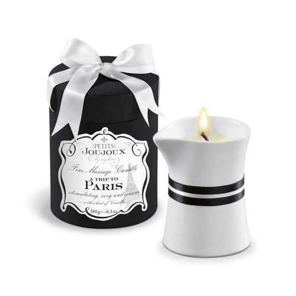 Массажная свечa Petits Joujoux - Paris - Vanilla and Sandalwood (190 г)