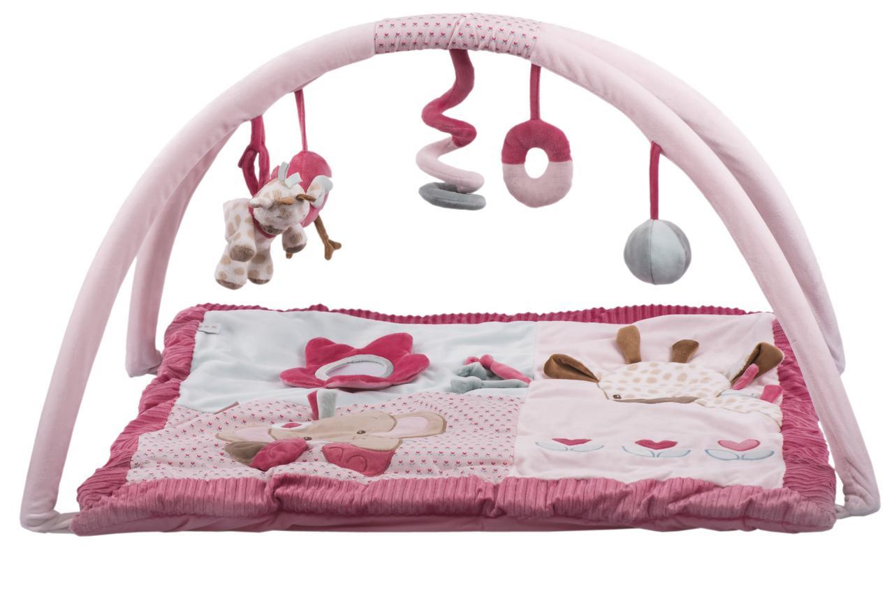 Nattou Развивающий коврик с дугами Шарлота и Рози   655224