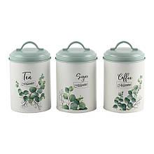 Емкости для хранения кофе/чая/сахара Maestro MR-1773-3CS