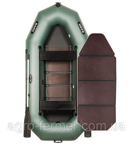 Тримісна гребний надувна лодка Bark-300PD книжка