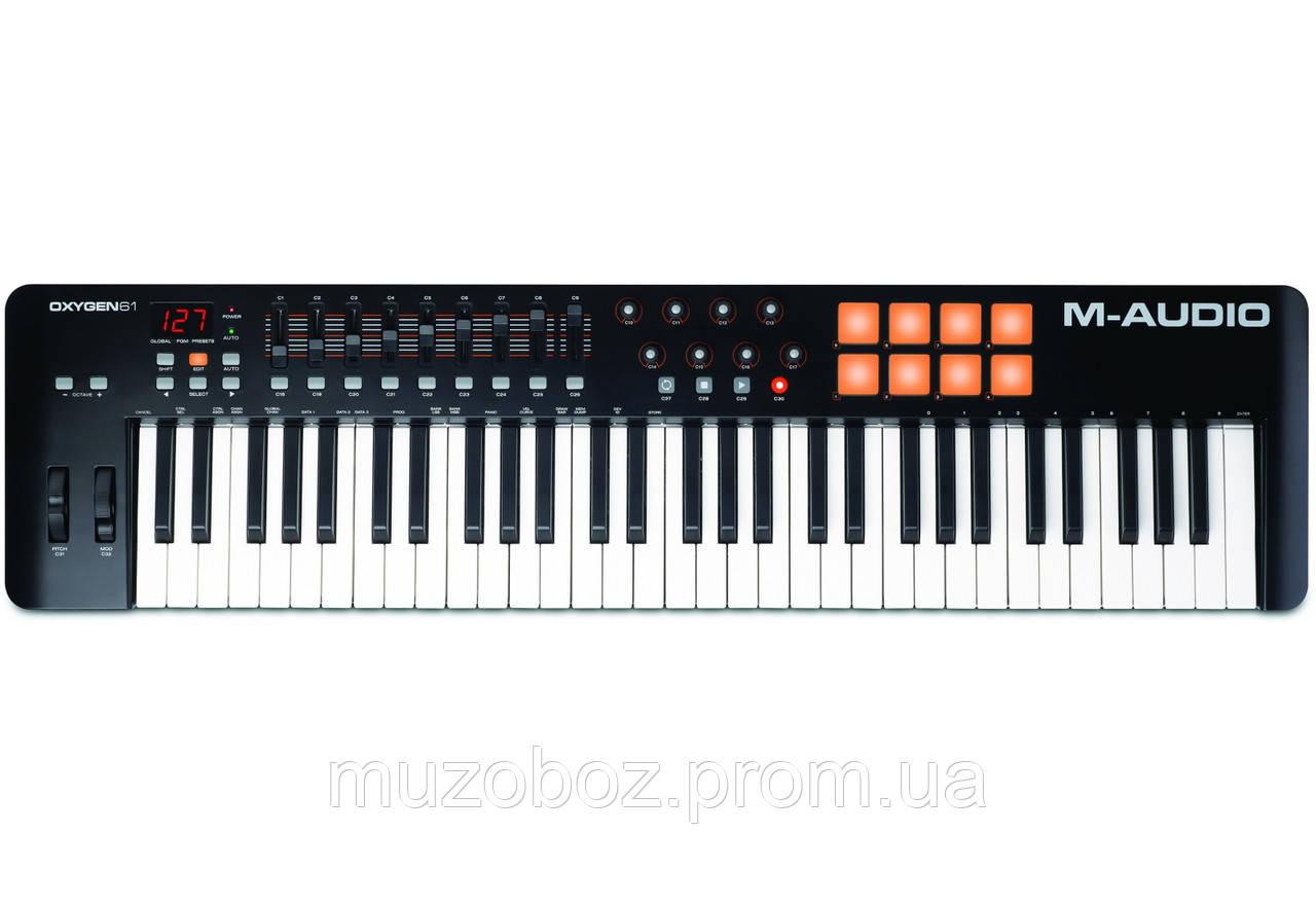 MIDI клавиатура M- Audio OXYGEN61 IV