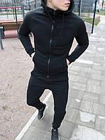 Мужской спортивный костюм черный Спринт, фото 1