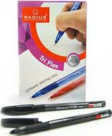"""Ручка шариковая Tri Flex  """"Radius"""" (черная)"""