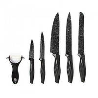 Набор ножей с керамическим покрытием Wellamart, 6 предметов (5563)