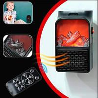 Электрокамин с пультом управления Supretto - Новогодняя распродажа