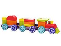 Конструктор-поезд «Радужный экспресс»