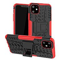 Чехол Armor Case для Apple iPhone 11 Red