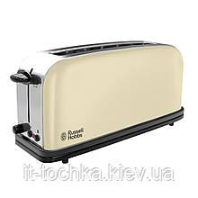 Тостер russell hobbs 21395-56 classic cream long slot toaster