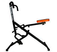 Тренажер Total Crunch (Тотал Кранч) для спины и ног, Черный