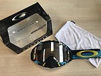 Маска Oakley Mayhem Pro Legacy BlueЛинза Black Iridium