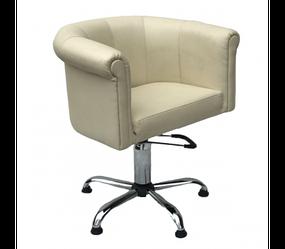 Парикмахерское кресло глубокое полукруглое на гидравлике Рефлекшн (Reflection) Кресло для клиентов парикмахера