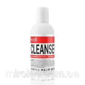 Cleanser Kodi, 250 мл, жидкость для снятия липкости