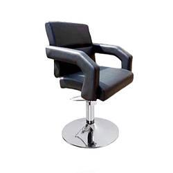 """Кресло парикмахерское с фигурными подлокотниками """"Колибри"""" мебель кресла для салонов красоты Диск опуклый, Гидравлика"""