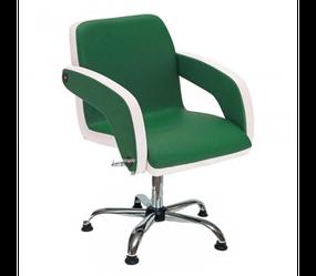 Парикмахерское кресла для салонов красоты Miranda Стильные кресла для клиентов парикмахера салона Хром пятилучье, Гидравлика