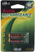 Аккумуляторы kodak ni-mh r03 650mah 2 штуки (30955042)