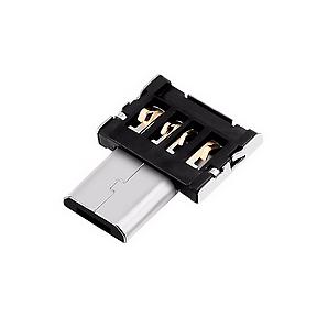 Переходник OTG microUSB – USB (без корпуса)
