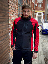 Мужская куртка красно-черная Intruder Soft Shell Lite 'iForce' размер S 46 M 48 L 50 XL 52 XXL 54