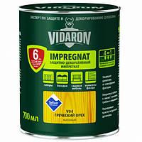 Тонирующий защитный лак для древесины V15 Vidaron БЛАГОРОДНЕ ЧЕРВОНЕ ДЕРЕВО0,7л