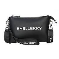 Женская сумочка-клатч Baellerry N1905 Black стильный аксессуар для девушек женщин Бейлери