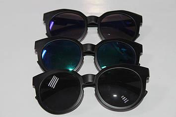 Дитячі сонцезахисні окуляри чорні 1 шт