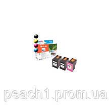 Набор картриджей. (2x) черный (Black),(1x) 3 х цветные (C,M,Y), HP No 652 с оригинальным чипом.