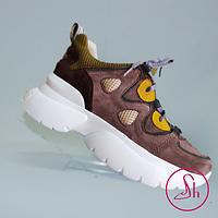 Кросівки жіночі шкіряні, фото 1