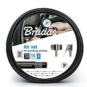 Комплект для подкачки шин, 3,5м, P/KP03,5 BRADAS