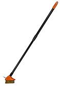 Щетка металическая с телескопическим черенком, 80-140см, KT-CX17 BRADAS
