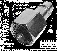 Адаптер РВ 3/8 STAL-CHROM, SE2-3PF/STEEL BRADAS