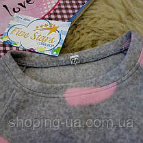 Флисовая пижама для девочки Five Stars KD0302-116p, фото 3