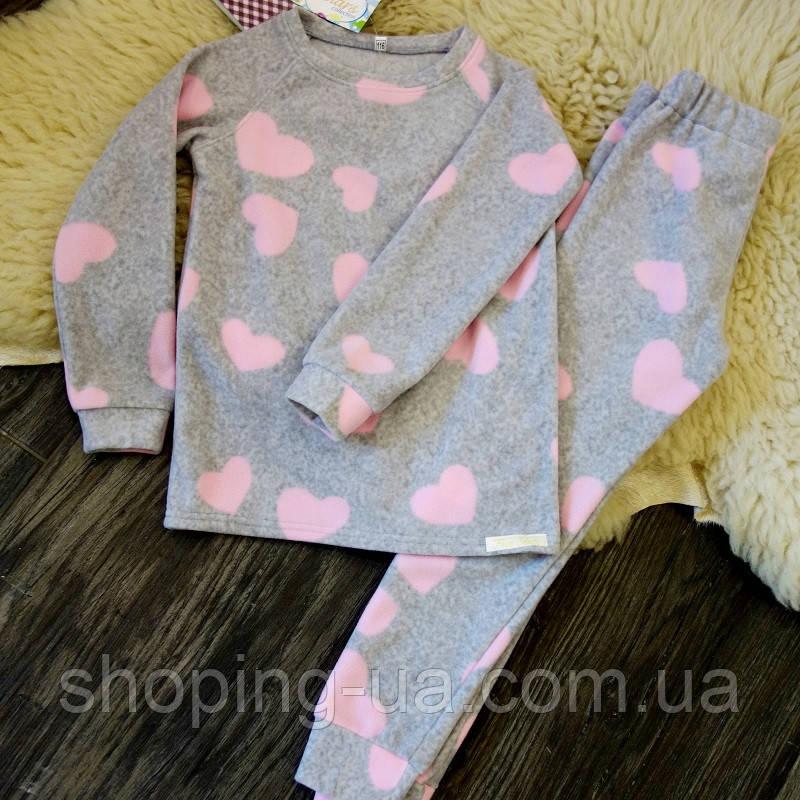 Флисовая пижама для девочки Five Stars KD0302-116p