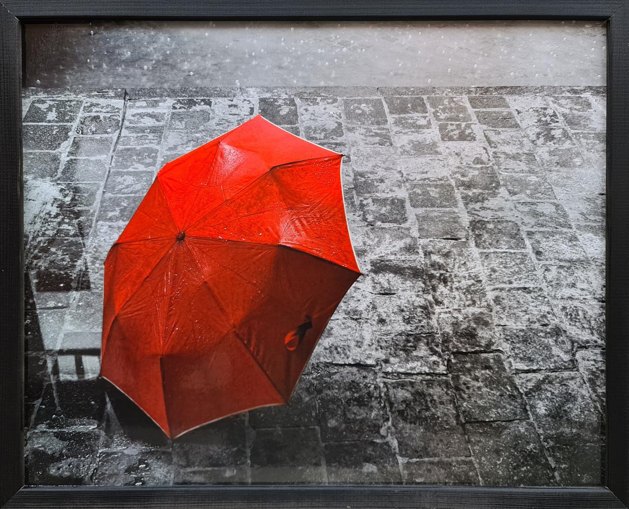 """Фотокартина в деревянной раме """"Umbrella 1"""", 40х50 см"""