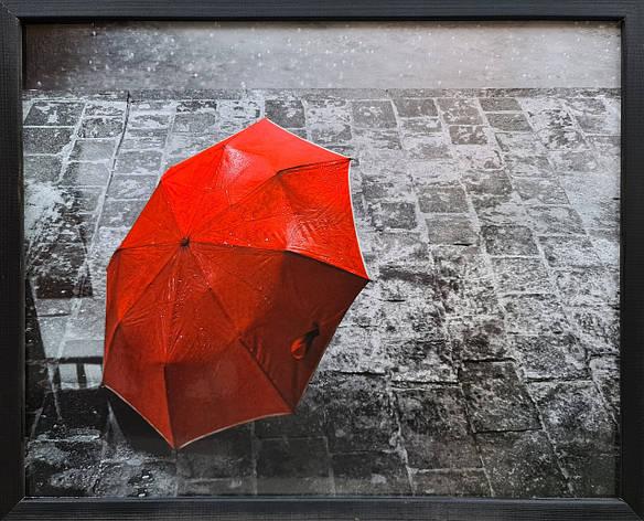 """Фотокартина в деревянной раме """"Umbrella 1"""", 40х50 см, фото 2"""