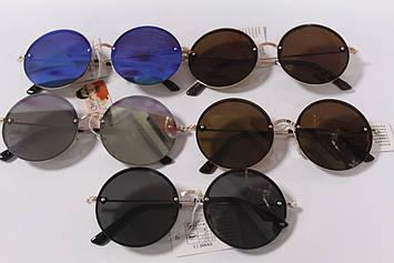Дитячі сонцезахисні окуляри круглі 1 шт
