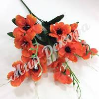 Букет весенний, оранжевый, 40 см