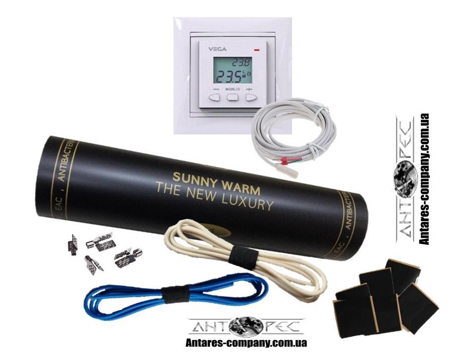 Готовый комплект с програматором VEGA LTC 070 (3м²) SUNNY WARM ( Премиум)