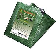 Тент прозрачный, (тарпаулин), LENO GREEN, 3х5м, 100г, PLCG1003/5 BRADAS