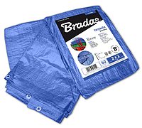 Тент водонепроницаемый, BLUE, 60 гр/м², размер 3 х 7м, PL3/7 BRADAS