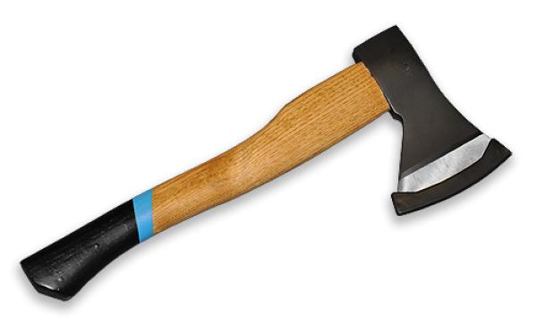 Топор GALA 600г с деревянной ручкой, J6852 BRADAS
