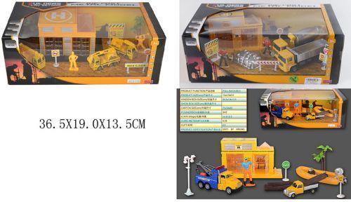 """Игровой набор """"Стройка"""" 7Toys GZ3136C/138C ( TC33450)"""