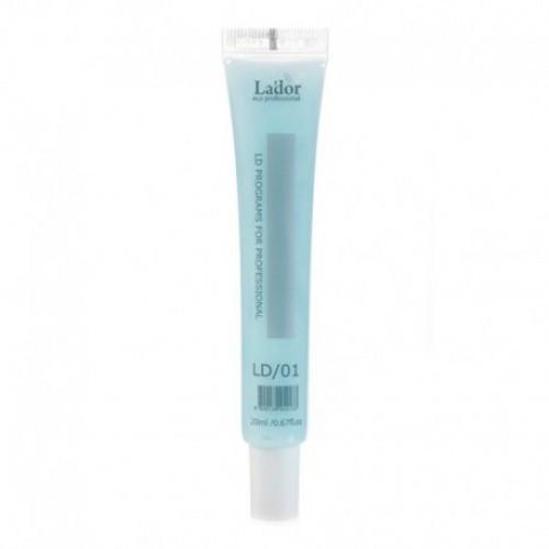 Крем для восстановления волос Lador LD program Этап 2 - Крем, туба 20 мл