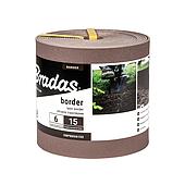 Бордюр, 6м*15см, коричневый, OBPBR06150 BRADAS
