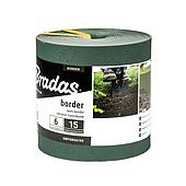 Бордюр, 6м*15см, зеленый, OBPGR06150 BRADAS