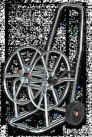 Тележка для шланга, 3/4′′ 80м, SOLID ZINC-CHROM, AG3318 BRADAS