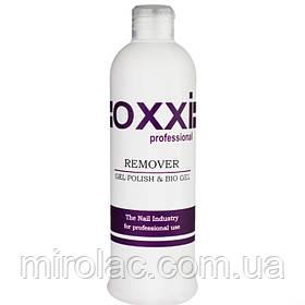 Remover GelPolish & BioGel Oxxi, 500 мл, жидкость для снятия гель-лака, геля, акрила, био геля