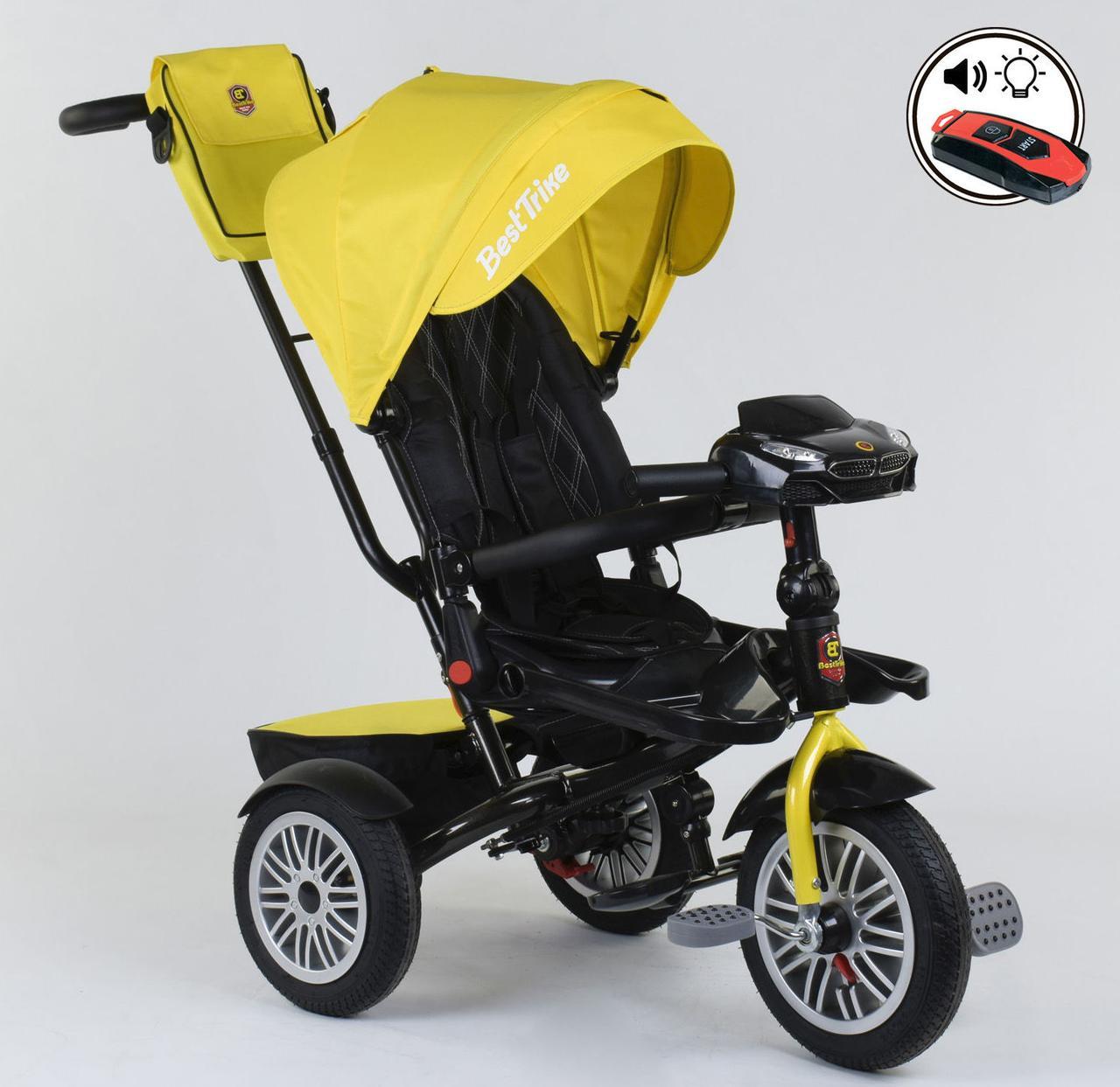 Велосипед детский трехколесный Best Trike 9288 с пультом и поворотным сидением